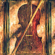 Three Violins Art Print