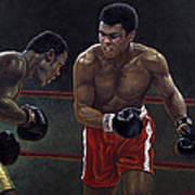 Thrilla In Manilla Art Print