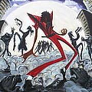 Thriller V2 Art Print