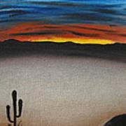 Thriving In The Desert Art Print
