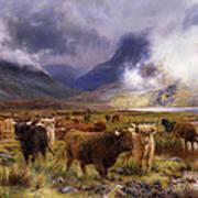 Through Glencoe By  Way To The Tay Art Print