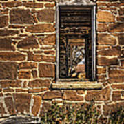 Through Doors And Windows - Abandoned House Art Print