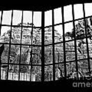 Through The Monastery Window Art Print