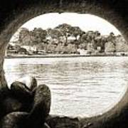 Through The Porthole Art Print