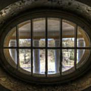 Through The Round Window Art Print