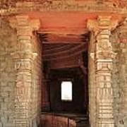 When Windows Become Art - Jain Temple - Amarkantak India Art Print