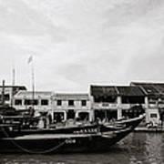 Thu Bon River Hoi An Art Print