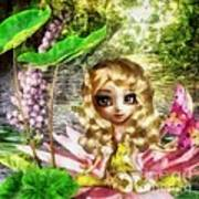 Thumbelina Art Print by Mo T