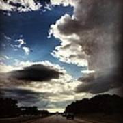 Thunder Clouds Art Print