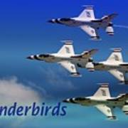 Thunderbirds Art Print