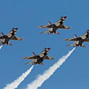Thunderbirds Diamond Flyover Art Print