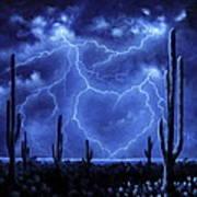 Thunderheart Art Print