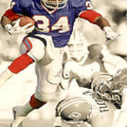 Thurman Thomas Art Print