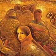 Tibet Golden Times Art Print