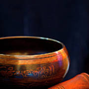 Tibetan Singing Bowl Art Print