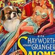 Tibetan Spaniel Art - Salome Movie Poster Art Print