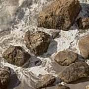 Tide Pools Of Shell Beach California Art Print