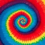 Tie Dye Art Print