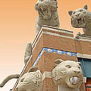 Tiger Town Art Print