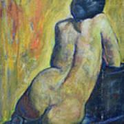 Tiina - Back Of Nude Woman Art Print