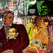 Tijuana Iv Art Print by M o R x N