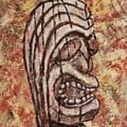 Tiki God Art Print