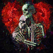 Til Death Art Print by Christopher Lane