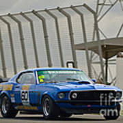 Tilley Racing Mustang Art Print