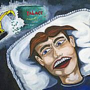 Tillies Nightmare Art Print