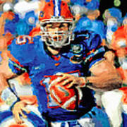 Tim Tebow Mr. Florida Gator Art Print