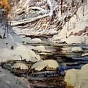 Timber Creek Winter Art Print