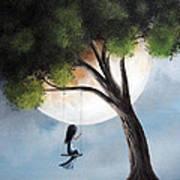Time Alone By Shawna Erback Print by Shawna Erback