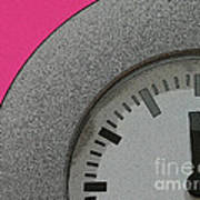 Time Clicks On Art Print