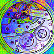 Time In Abstract 20130605m36 Square Art Print