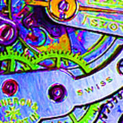Time In Abstract 20130605p36 Print by Wingsdomain Art and Photography