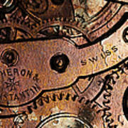 Time In Abstract 20130605rust Long Art Print by Wingsdomain Art and Photography