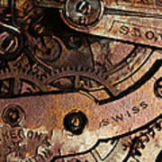 Time In Abstract 20130605rust Art Print