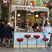 Time Out Snack Bar In Bath England Art Print