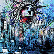 Times Square 2 Art Print