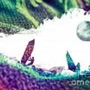 Time Surfer Art Print