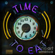 Time To Eat Art Print
