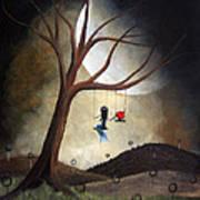 Time Together By Shawna Erback Art Print by Shawna Erback