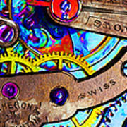 Time Waits For Nobody 20130605 Print by Wingsdomain Art and Photography