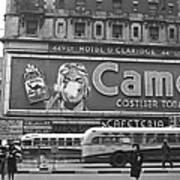 Times Square Advertising Art Print