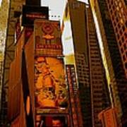 Times Square In Manhattan Art Print