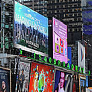 Times Square - Looking South Art Print