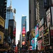 Times Square - New York I Art Print