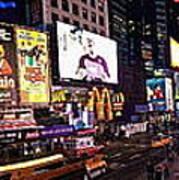 Times Square Ny Panoramic Art Print