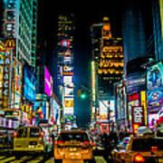 Times Square Nyc Art Print