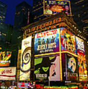 Times Square Print by Svetlana Sewell